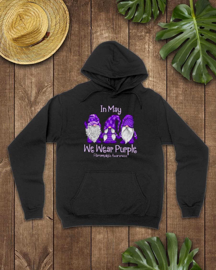 in May We Wear Purple Fibromyalgia Awareness Shirt3