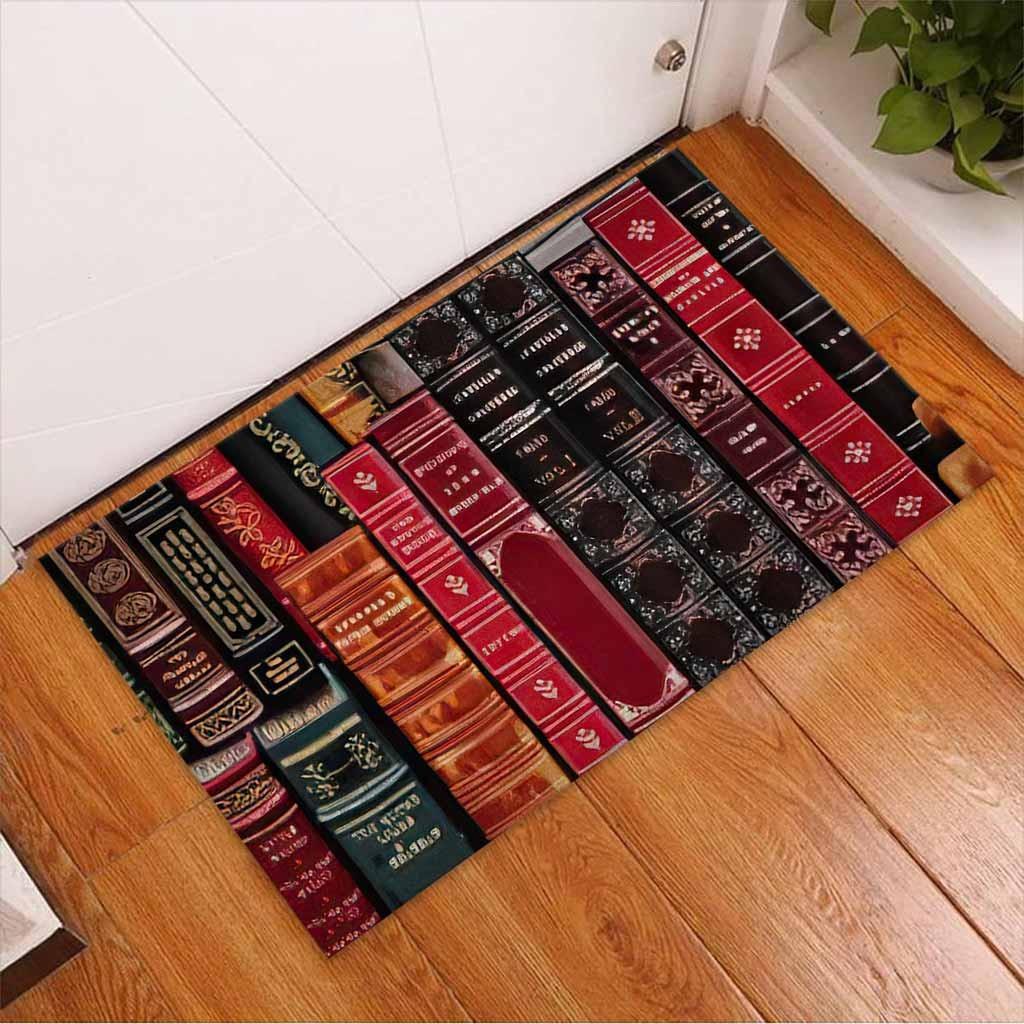 Librarian welcome doormat2