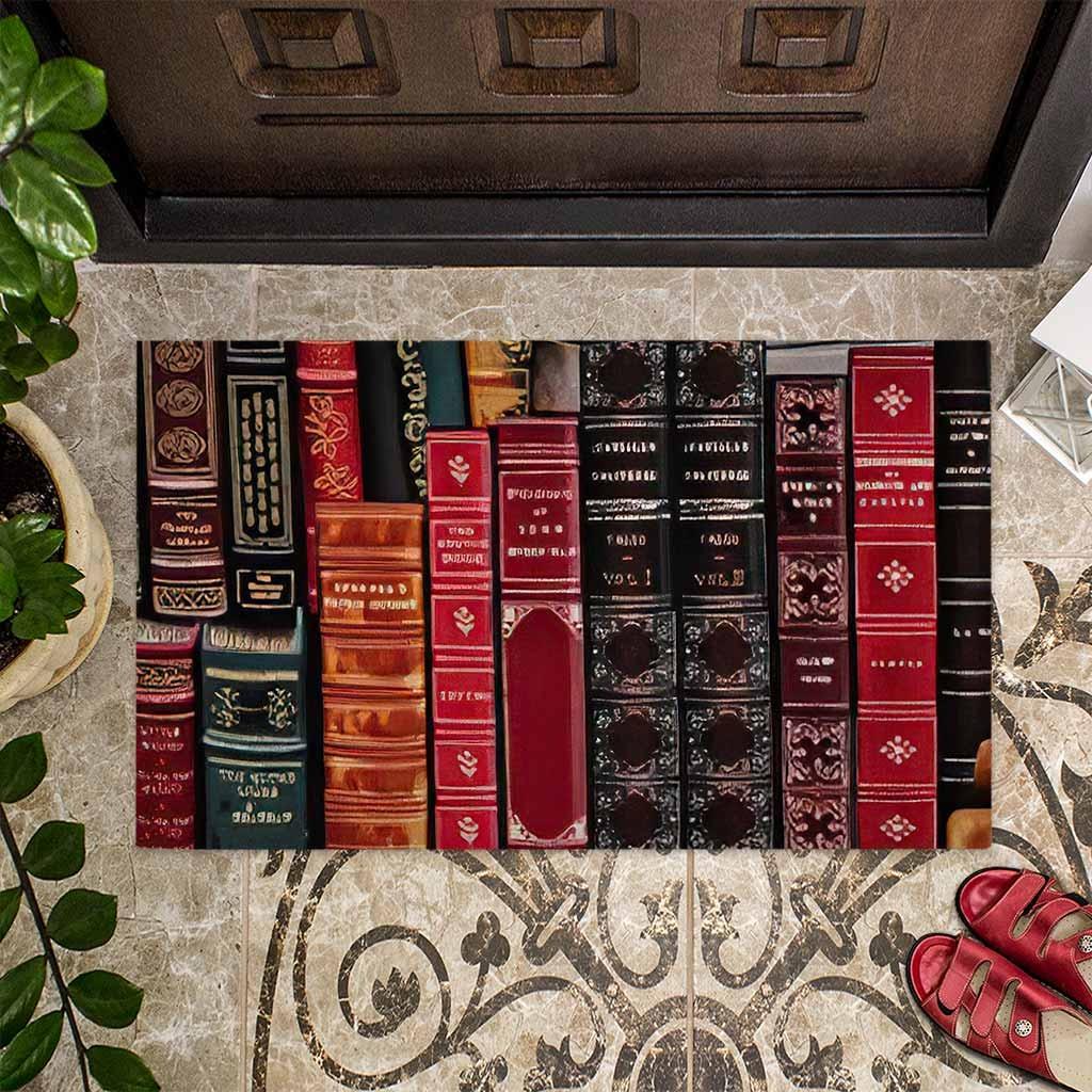 Librarian welcome doormat4 2
