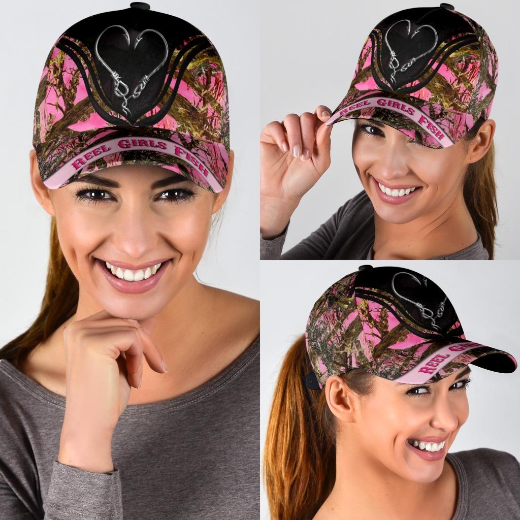 Reel girls fish classic cap3