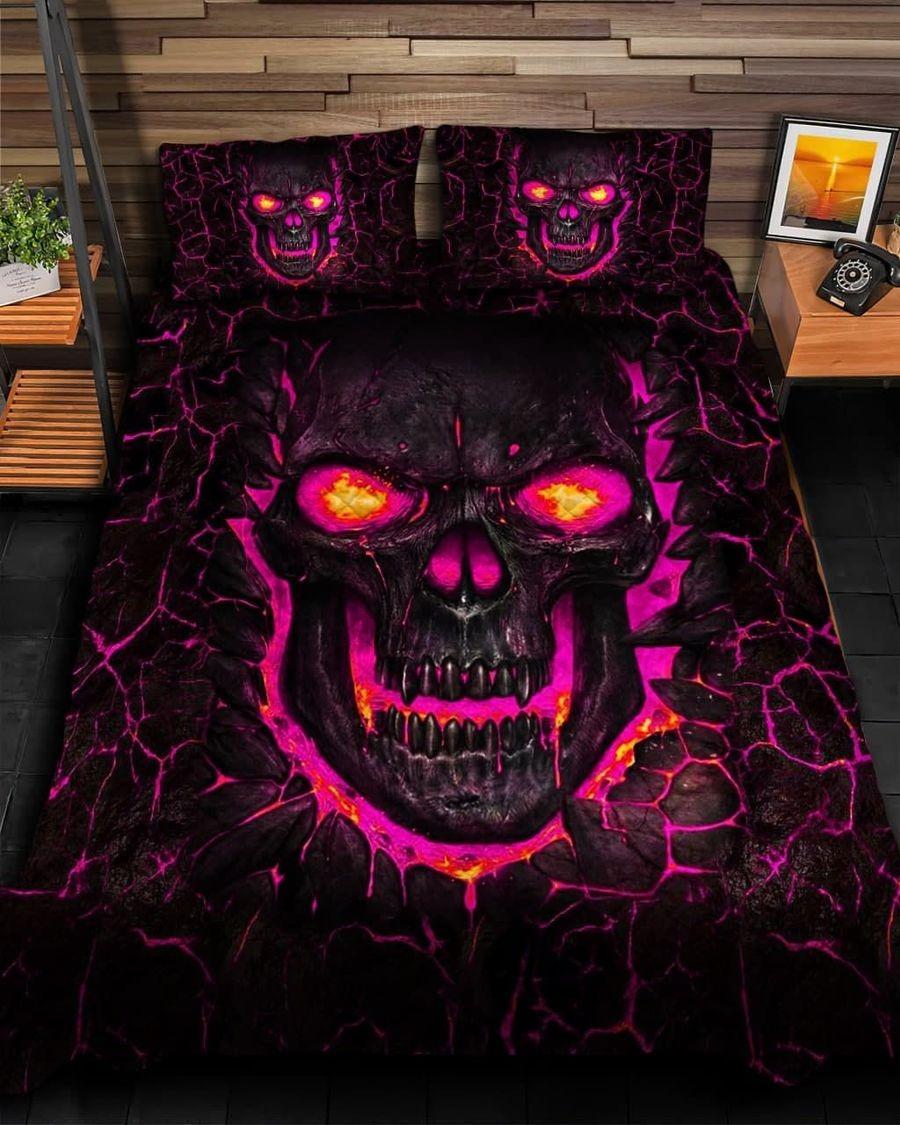 Skull fire bedding set4