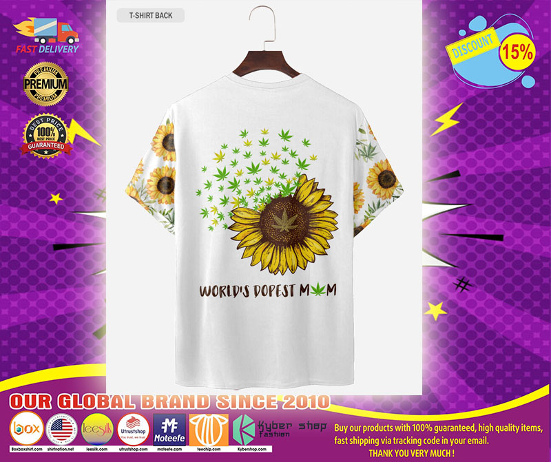 Sunflower dopest mom love 3d T shirt and hoodie1