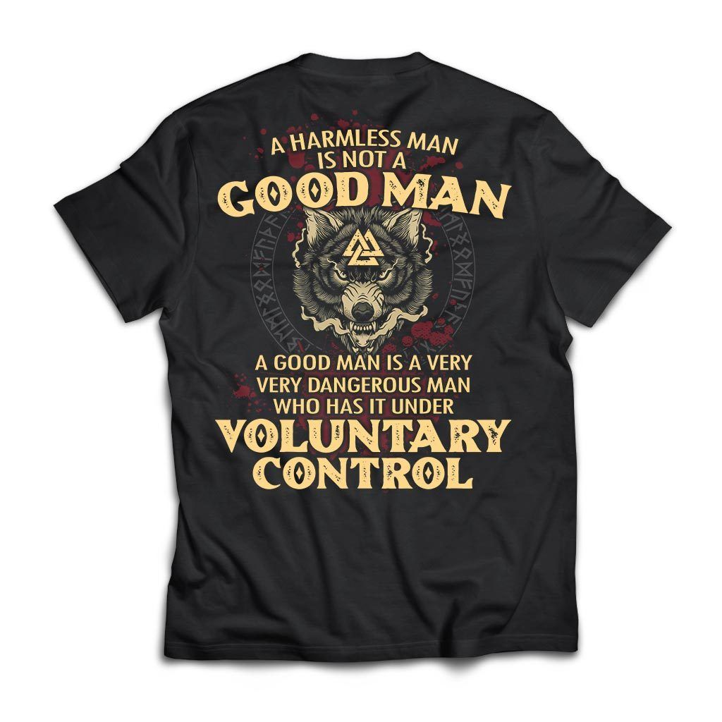 viking norse gym t shirt apparel a harmless man is not a good man backapparel heathen by nature authentic viking products next level premium short sleeve t shirtblacks 440342 1024x1024@2x