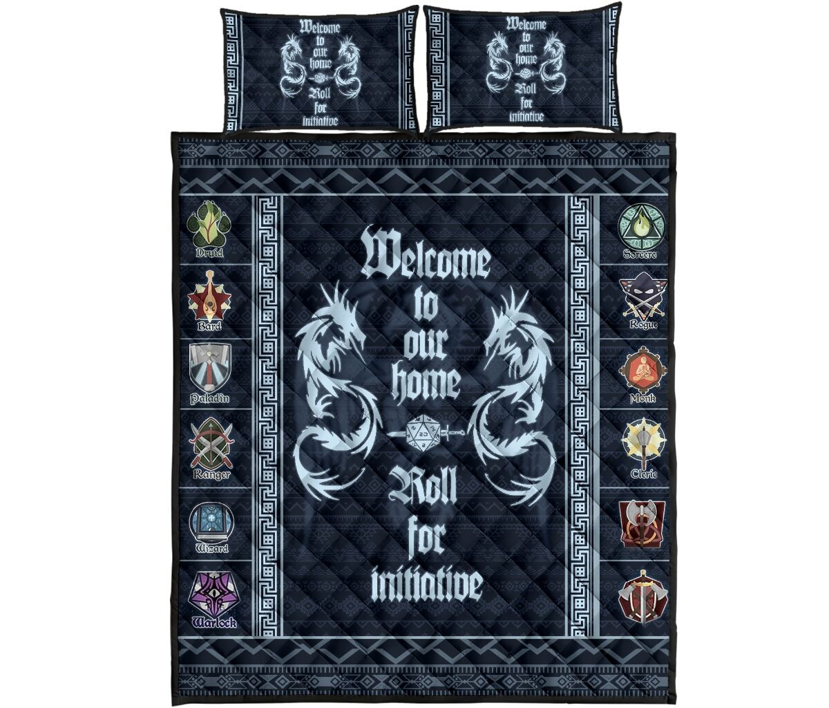 Welcome to out home quilt bedding set4