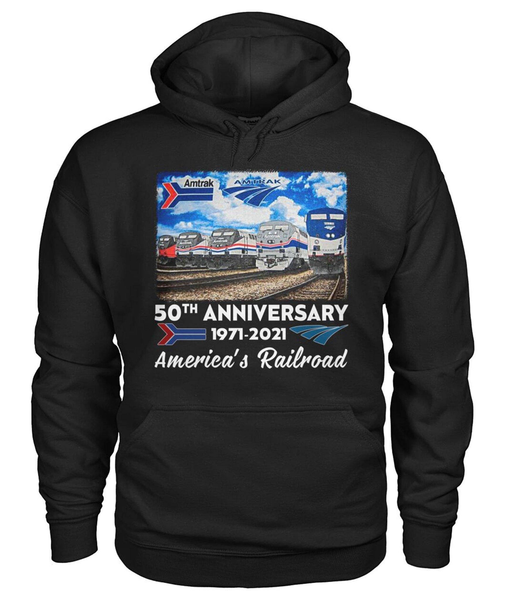 50th Anniversary 1971 2021 Americas Railroad Shirt