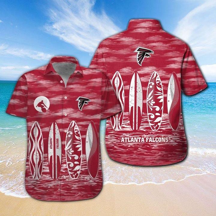 Atlanta Falcons HAWAIIAN And Beach SHORT