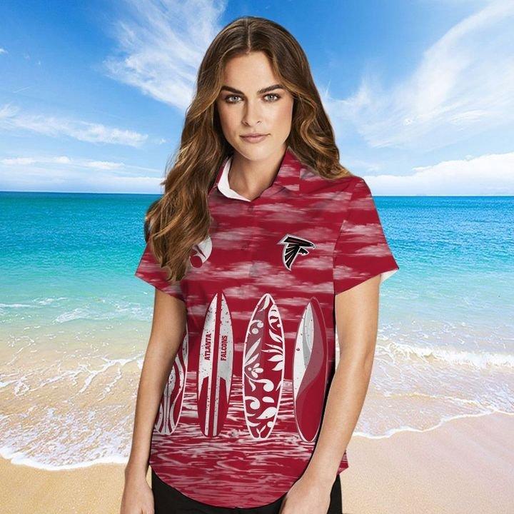 Atlanta Falcons HAWAIIAN And Beach SHORT2