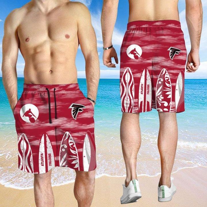 Atlanta Falcons HAWAIIAN And Beach SHORT3