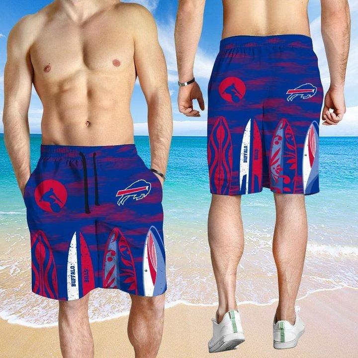 Buffalo Bills HAWAIIAN And Beach SHORT3