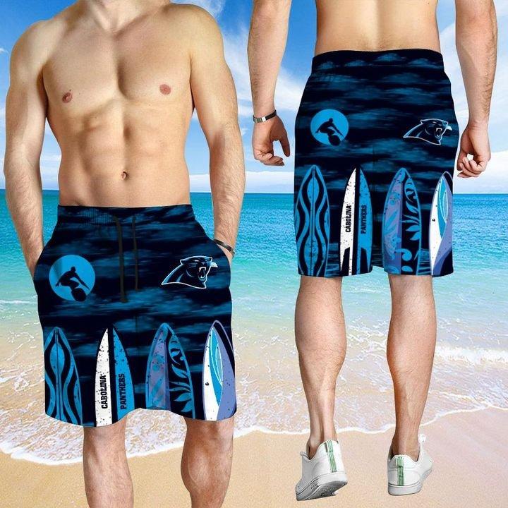 Carolina Panthers HAWAIIAN And Beach SHORT3