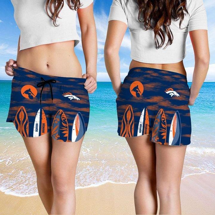 Denver Broncos HAWAIIAN And Beach SHORT4