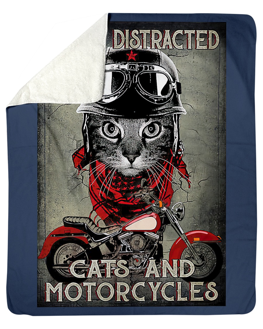 Easily distracted by cats and motorcycles poster5