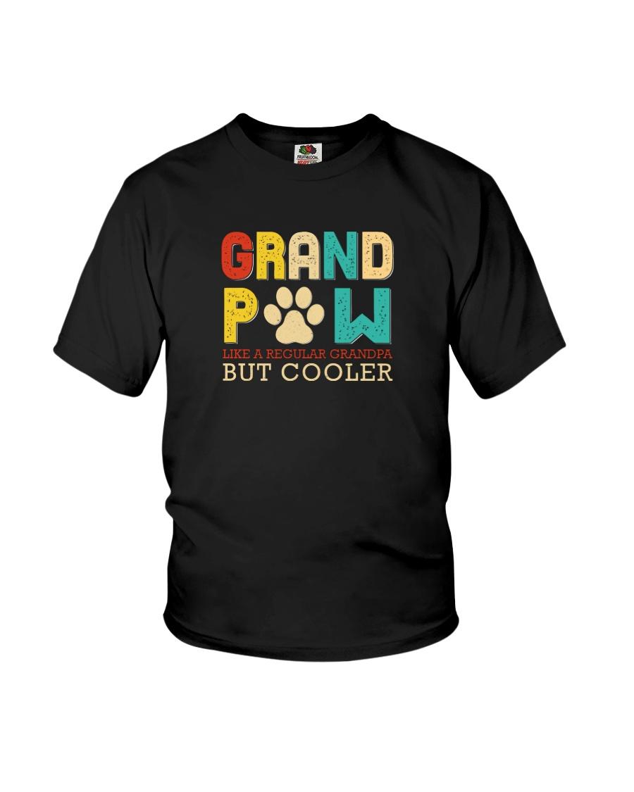 Grand pow like a regular grandpa but cooler shirt 12