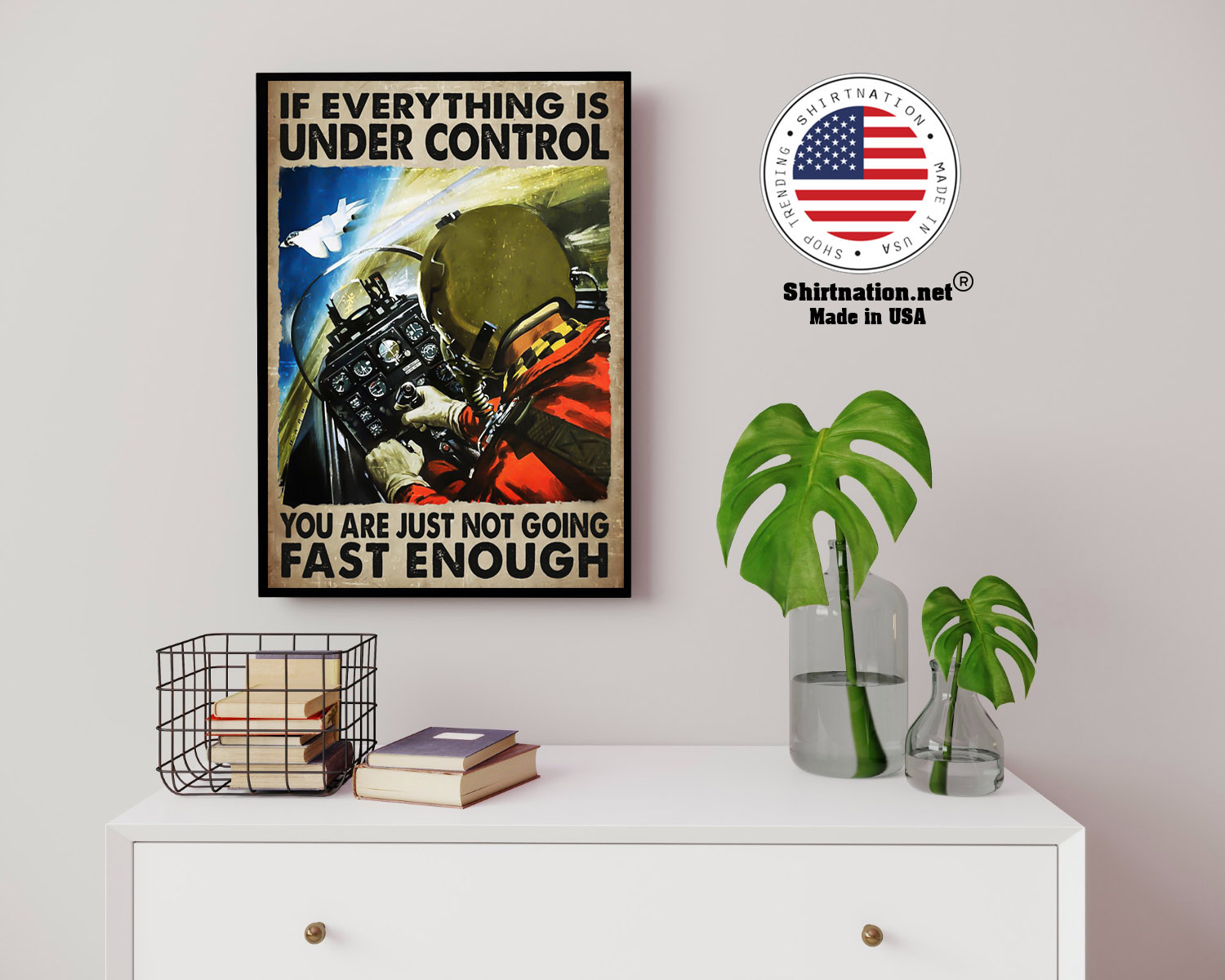 If everything is under control you are just not going fast enough poster 14
