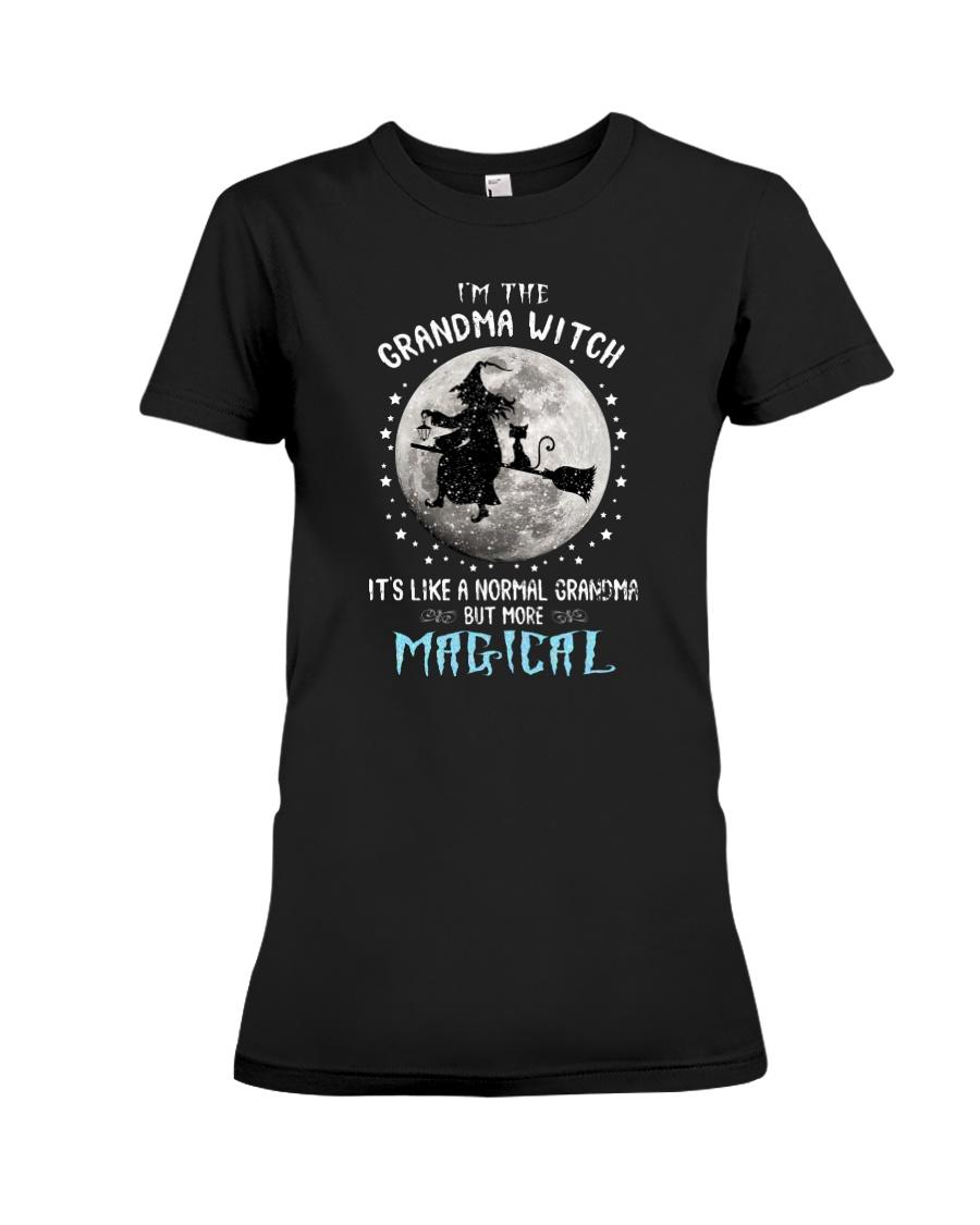 Im The Grandma Witch Its Like A Normal Grandma But More Magical Shirt6