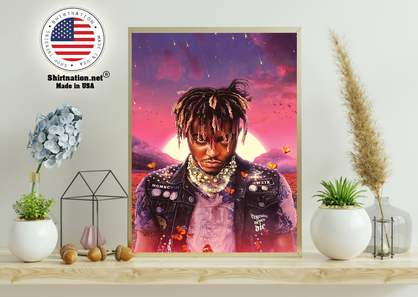 Juice WRLD legend never die poster 11