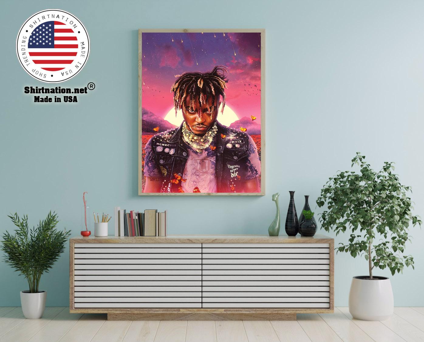Juice WRLD legend never die poster 12