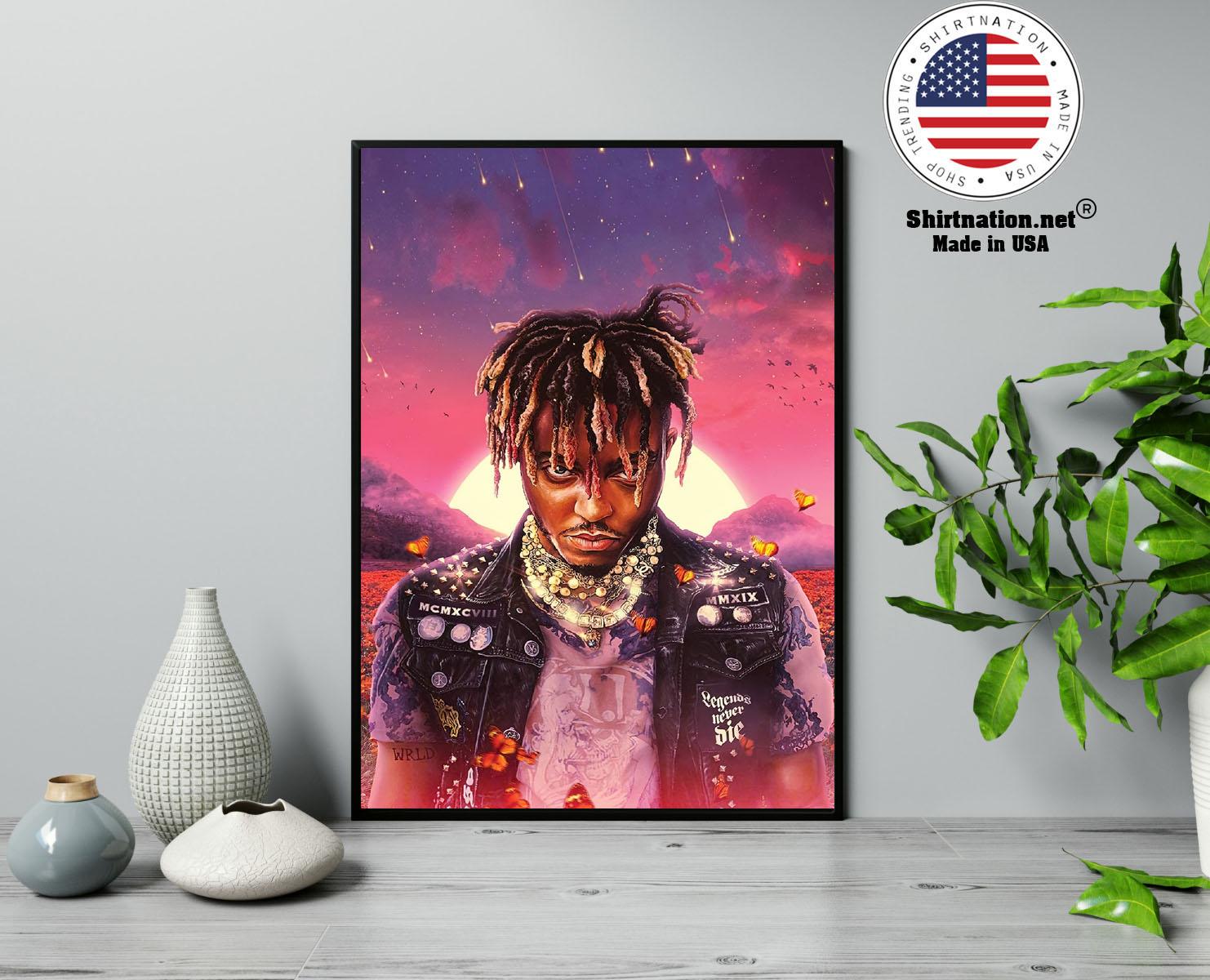 Juice WRLD legend never die poster 13