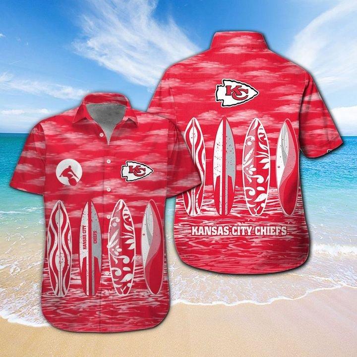 Kansas City Chiefs HAWAIIAN And Beach SHORT