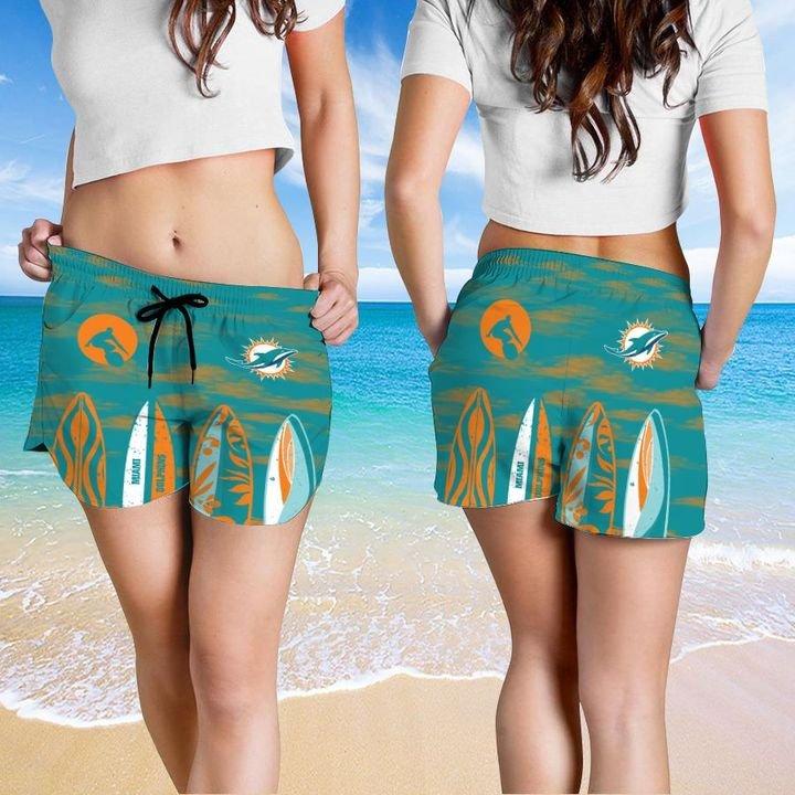 Miami Dolphins HAWAIIAN And Beach SHORT4