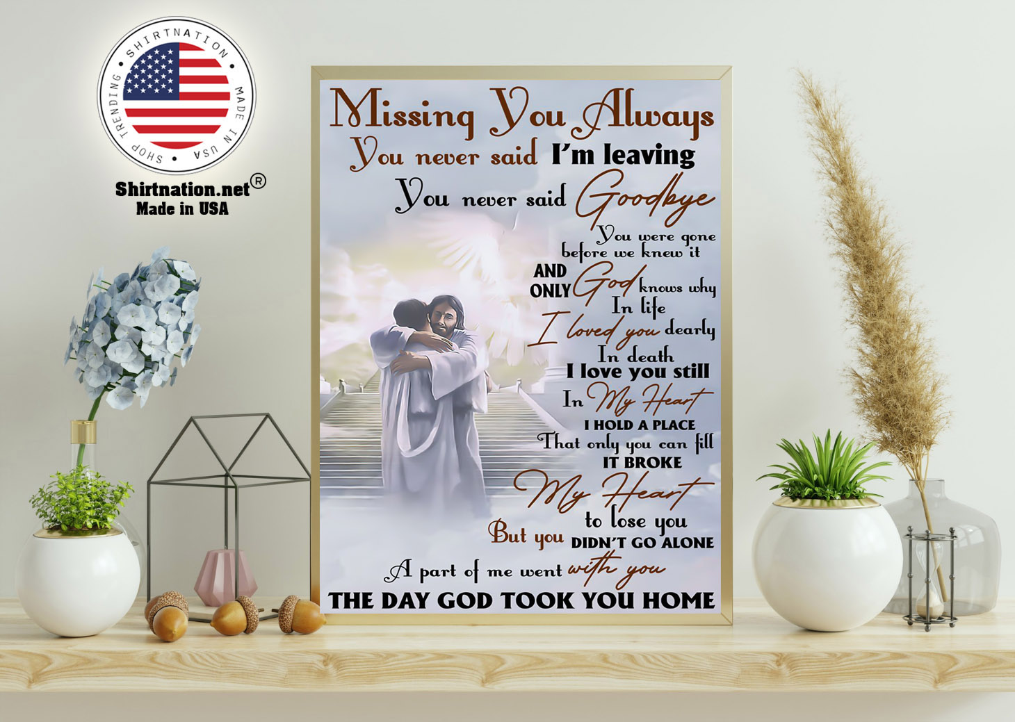Missing you always you never said im leaving poster 11