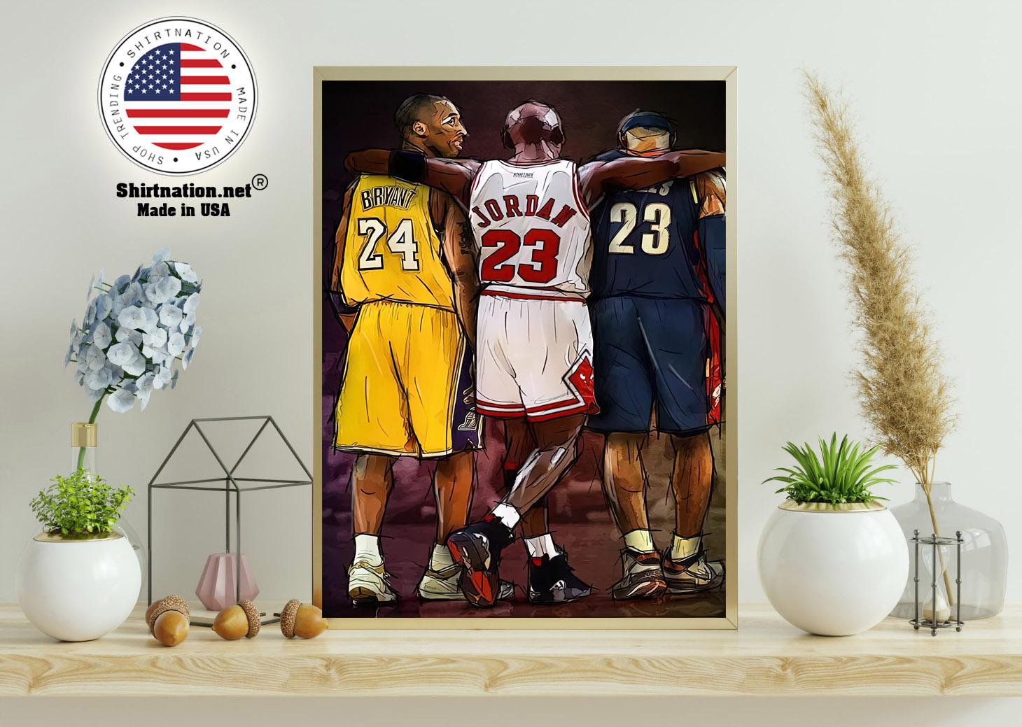NBA Legend modern wall art poster 11