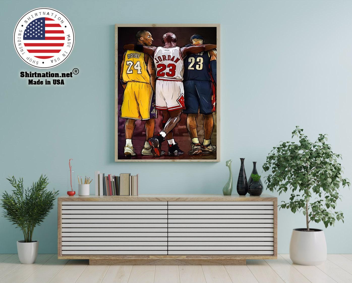 NBA Legend modern wall art poster 12