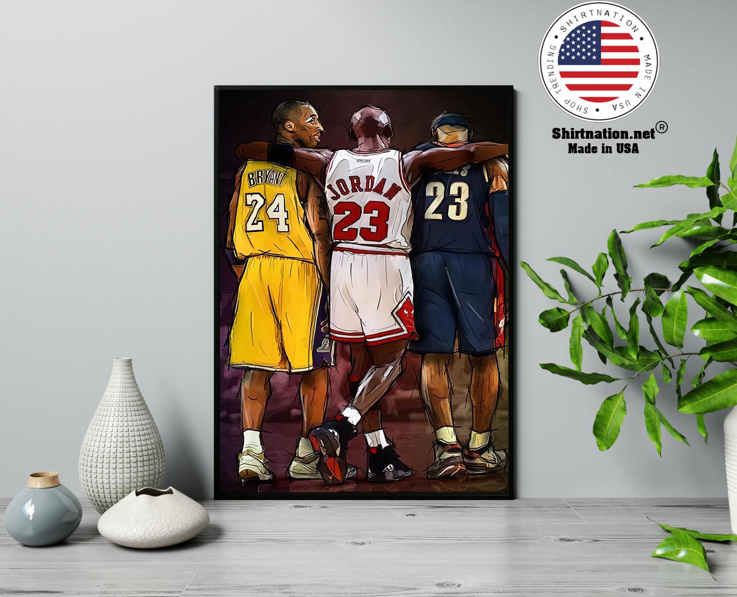 NBA Legend modern wall art poster 13
