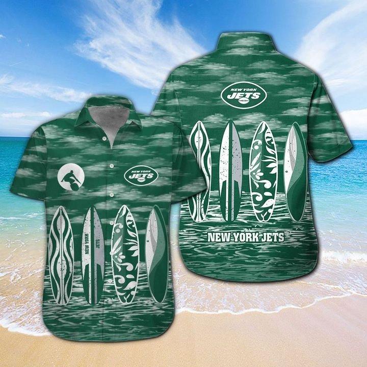 New York Jets HAWAIIAN And Beach SHORT