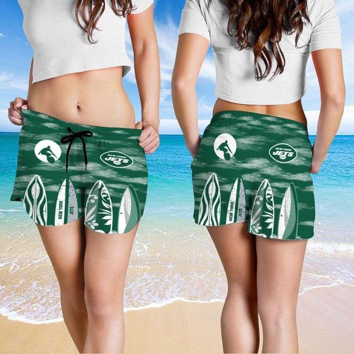 New York Jets HAWAIIAN And Beach SHORT5