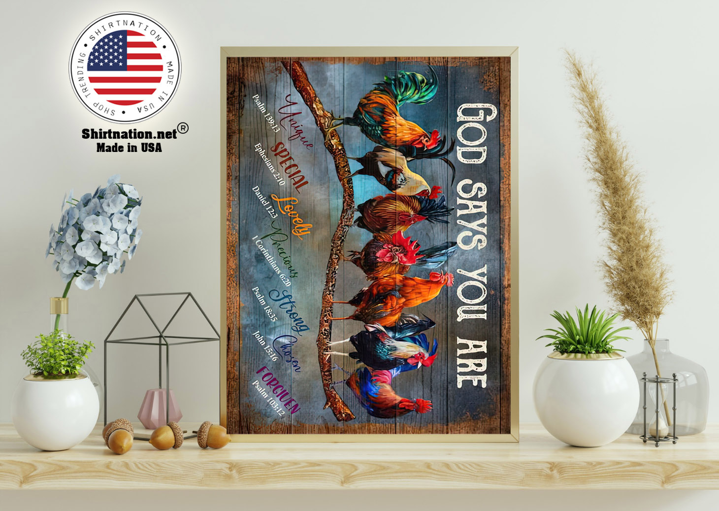 Rooster god says you are poster 11