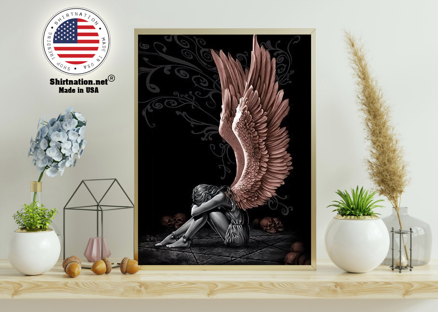Sitting angle poster and canvas 11