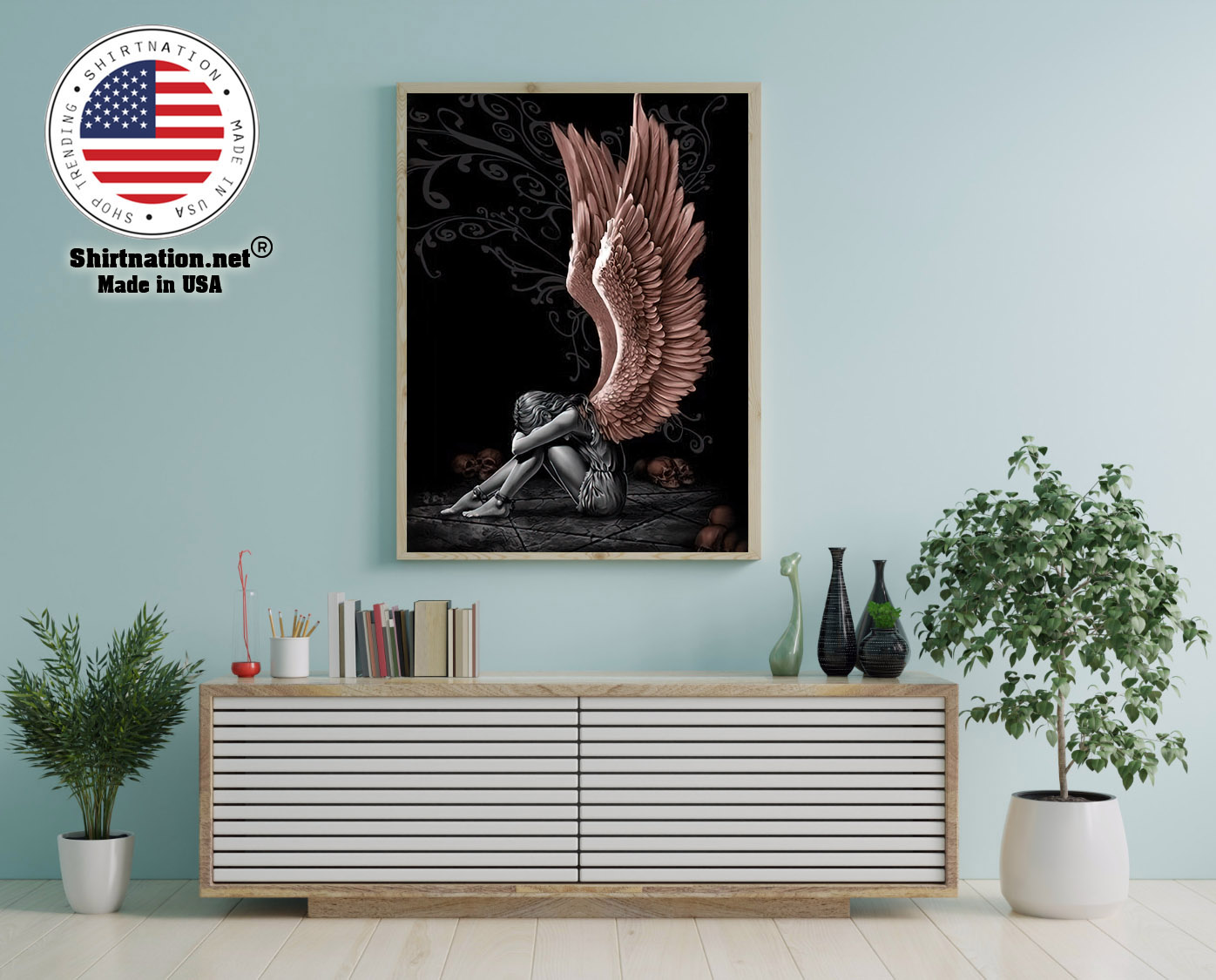 Sitting angle poster and canvas 12