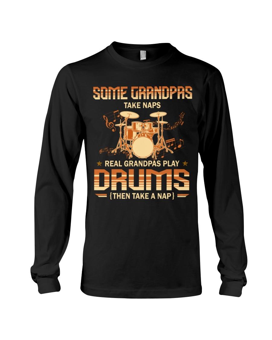 Some Grandpas Take Naps Real Grandpas Play Drums Then Take A Nap Shirt4