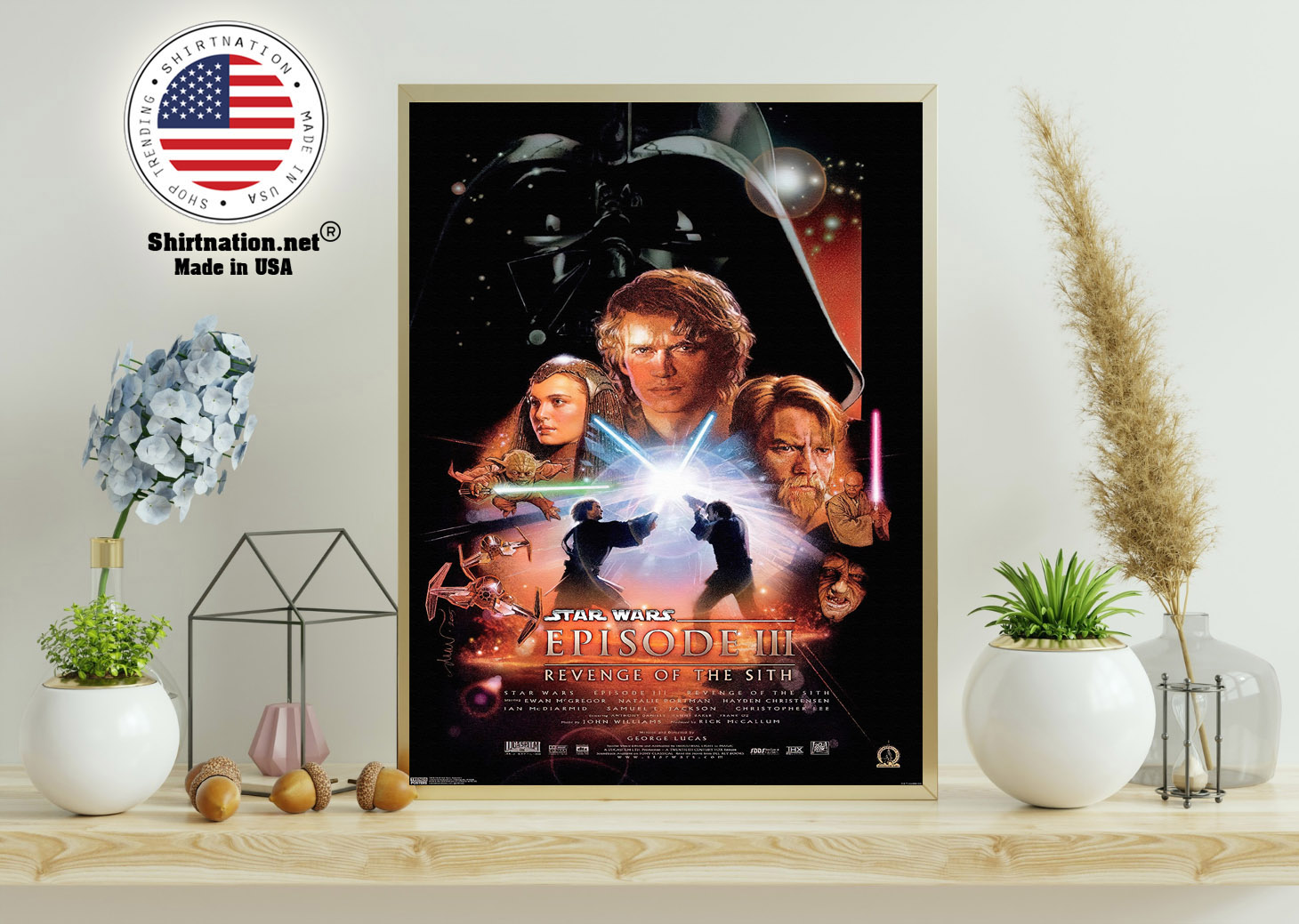 Star wars revenge of the sith poster 11