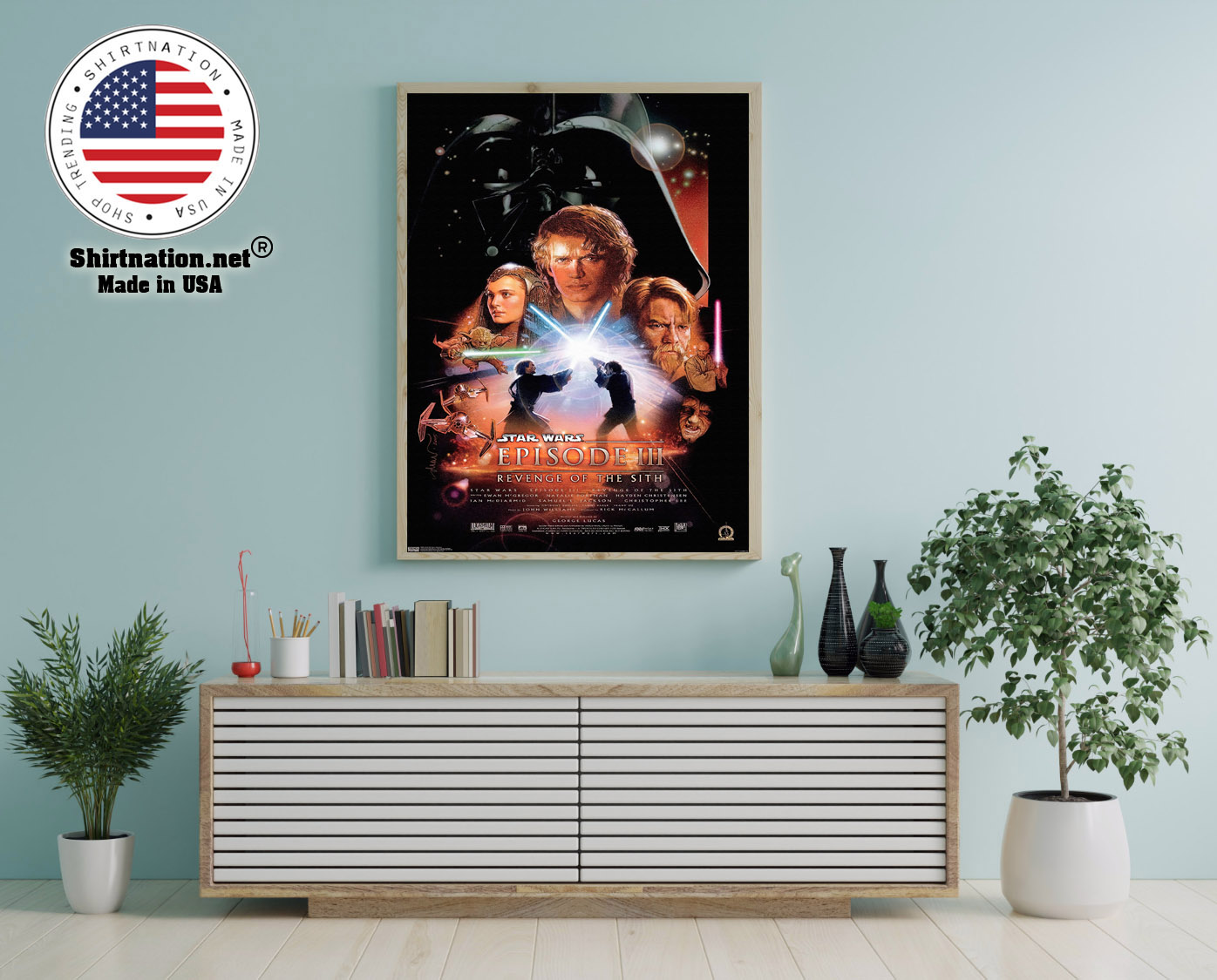 Star wars revenge of the sith poster 12