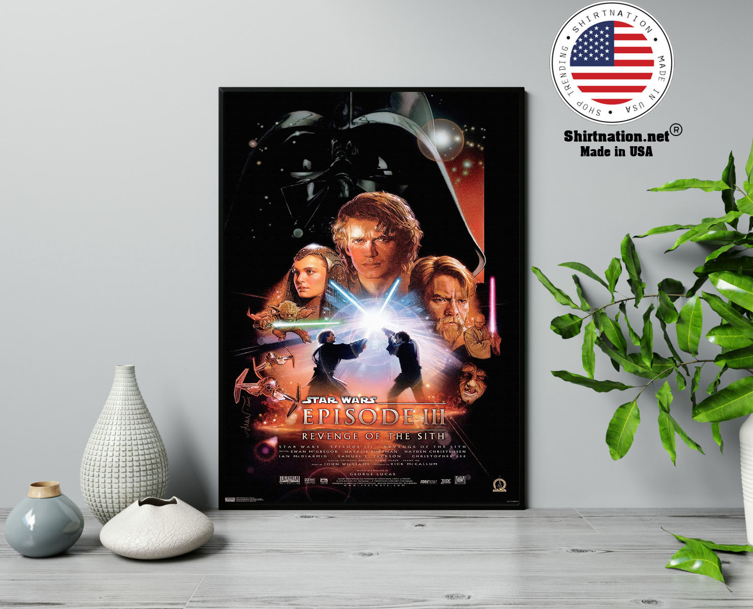 Star wars revenge of the sith poster 13