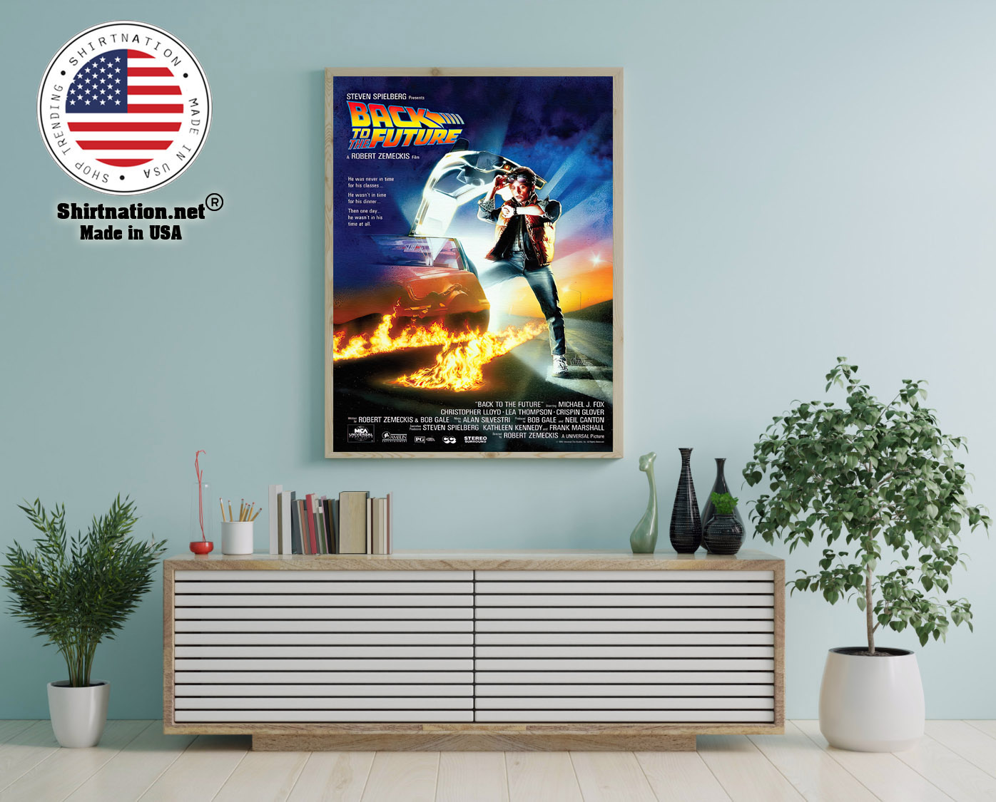Steven spielberg Back to the future poster 12