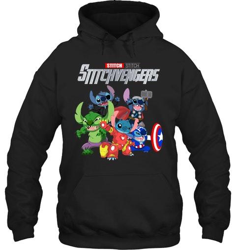 Stitch Avengers stitchvengers shirt 10