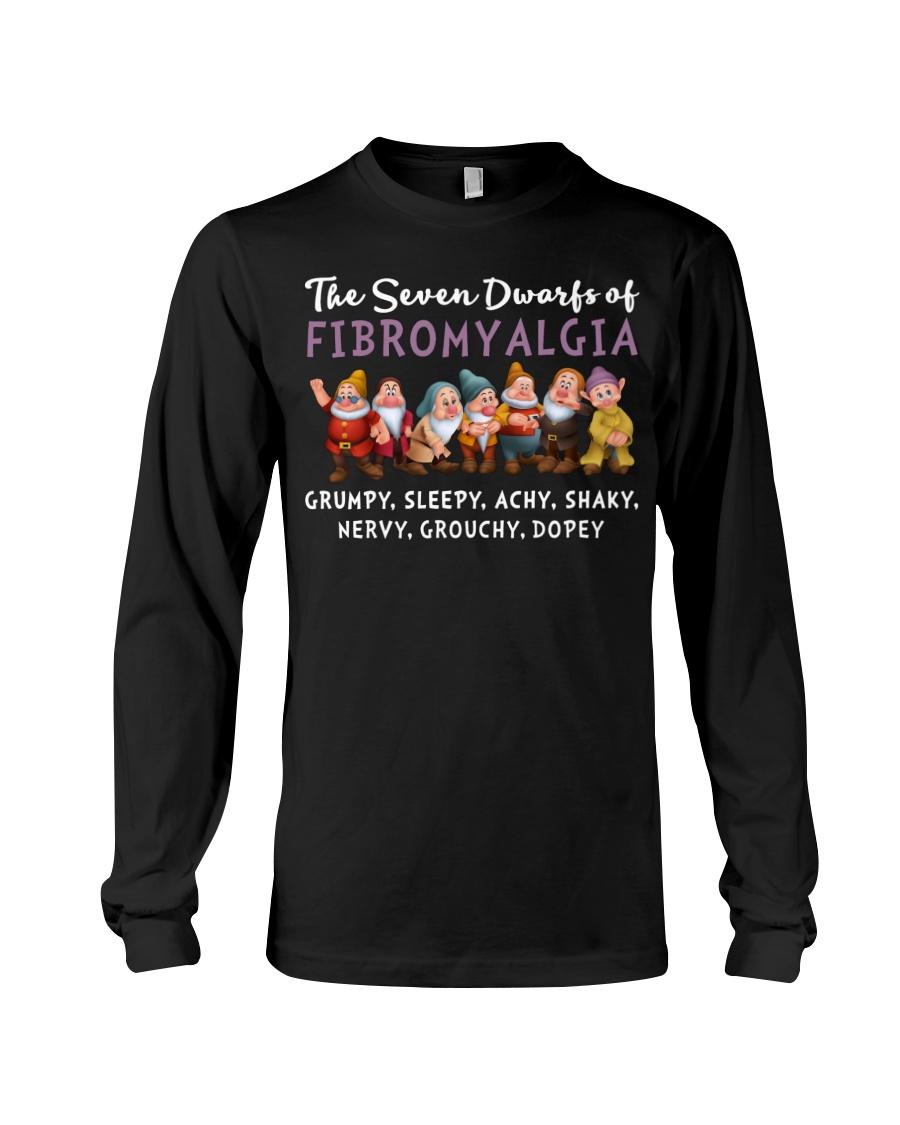 The seven dwarfs of dibromyalgia grumpy sleepy achy shaky shirt 12
