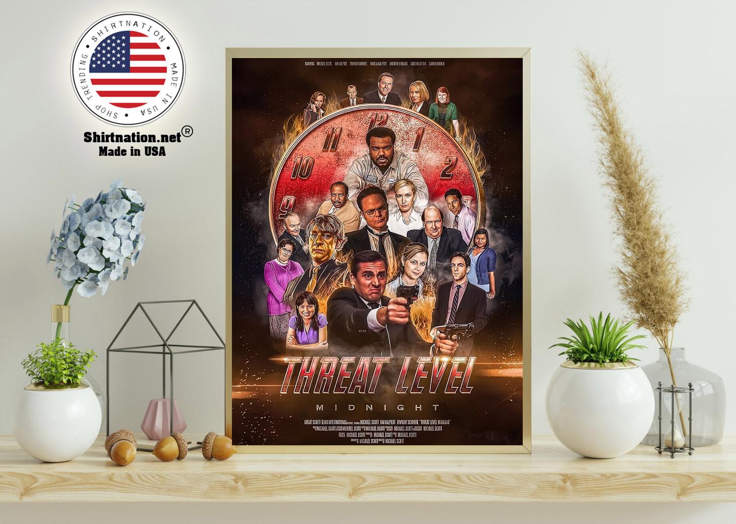 Threat level midnight movie poster 11