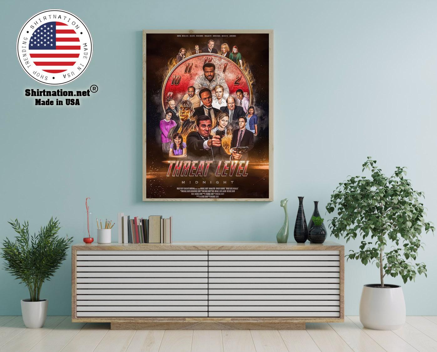 Threat level midnight movie poster 12
