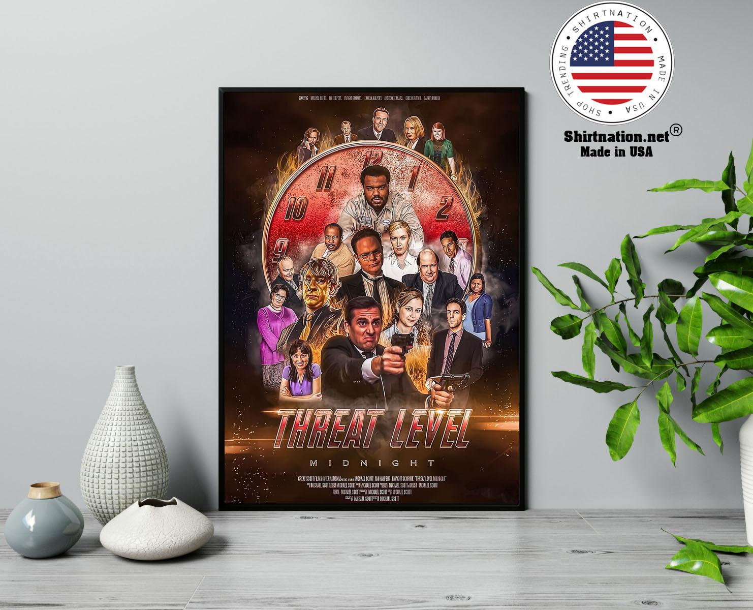 Threat level midnight movie poster 13
