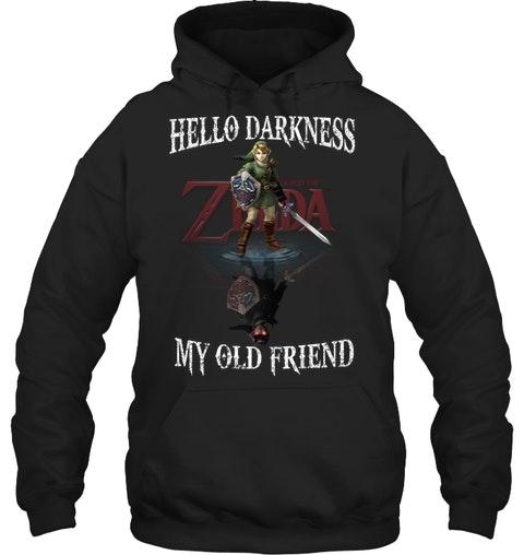 Zelda Hello darkness my old friend shirt 11