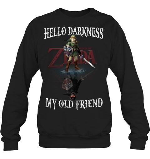 Zelda Hello darkness my old friend shirt 12