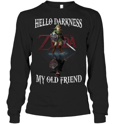 Zelda Hello darkness my old friend shirt 13 1