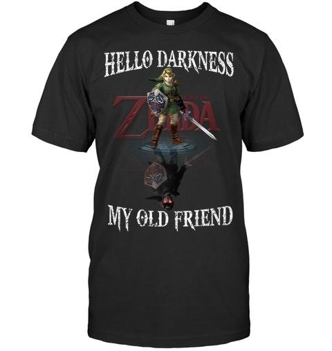 Zelda Hello darkness my old friend shirt as