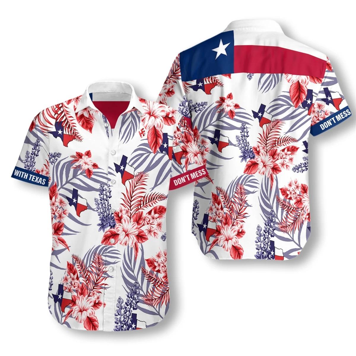 Dont mess with texas hawaiian shirt3