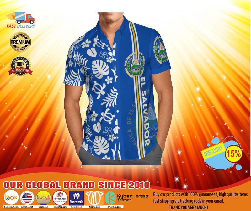 El salvador hawaiian T shirt4