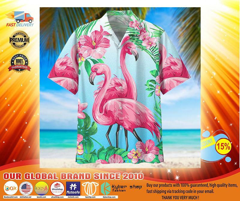 Flamingo hawaiian shirt4